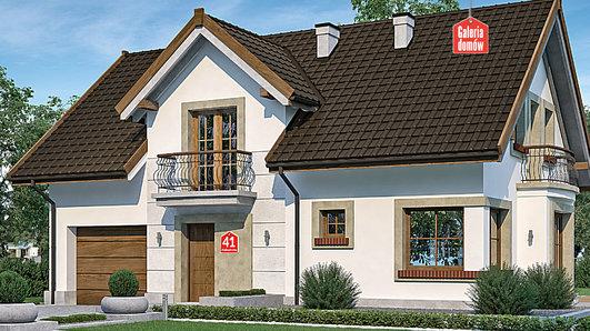 Projekt domu - Dom przy Alabastrowej 41