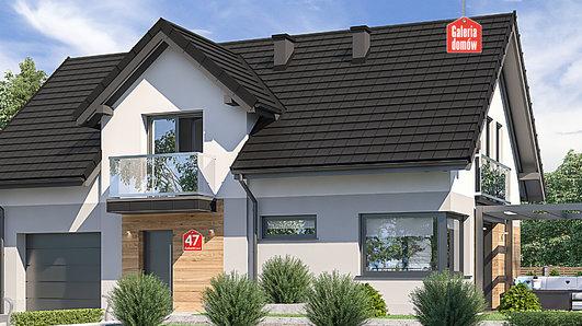 Projekt domu - Dom przy Alabastrowej 47