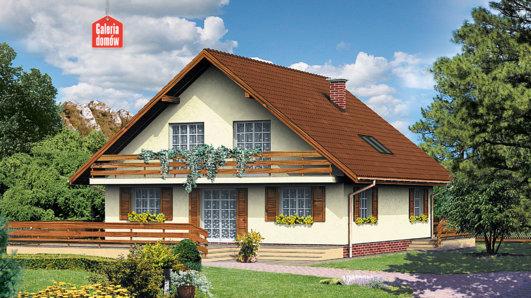 Projekt domu - Dom przy Leśnej
