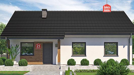 Projekt domu - Dom przy Bukowej 21