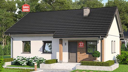 Projekt domu - Dom przy Bukowej 22