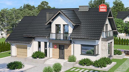 Projekt domu - Dom przy Modrzewiowej 16