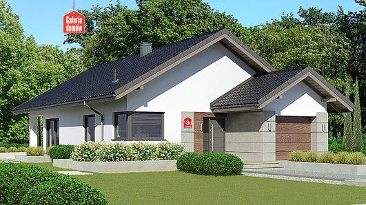 Projekt domu - Dom przy Pastelowej 18 D bis