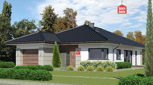 Projekt domu - Dom przy Pastelowej 19
