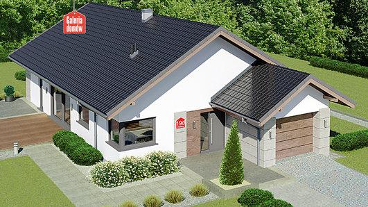Projekt domu - Dom przy Pastelowej 19 D bis