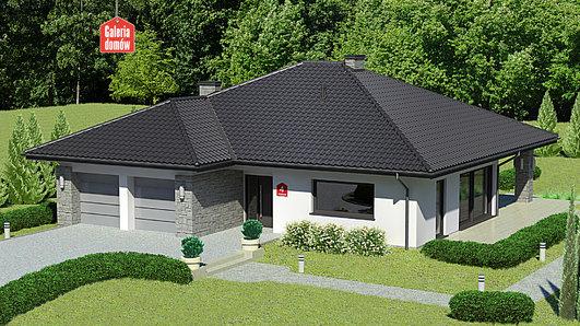 Projekt domu - Dom przy Kwiatowej 4