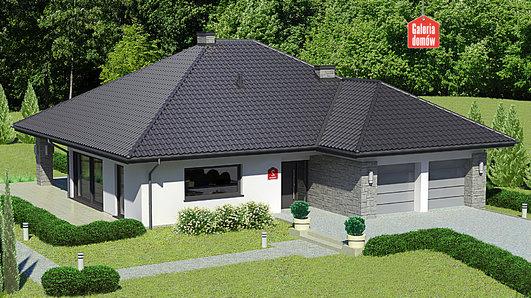 Projekt domu - Dom przy Kwiatowej 2 bis