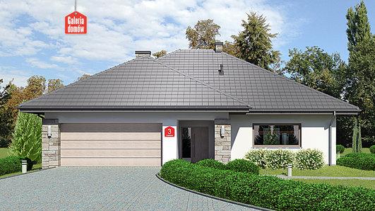 Projekt domu - Dom przy Kwiatowej 3 bis