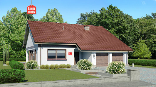 Projekt domu - Dom przy Przyjemnej 23 bis