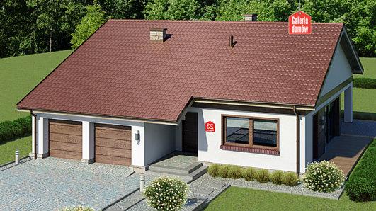 Projekt domu - Dom przy Przyjemnej 23