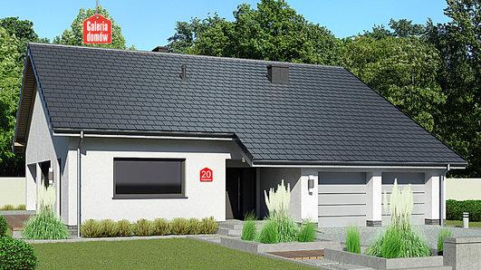 Projekt domu - Dom przy Przyjemnej 20 bis