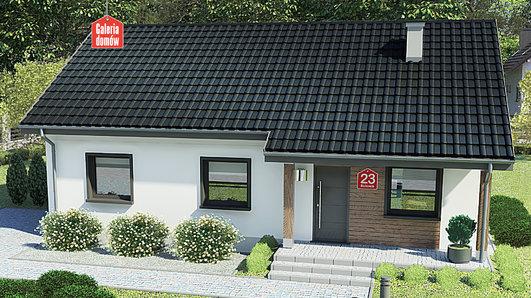 Projekt domu - Dom przy Bukowej 23