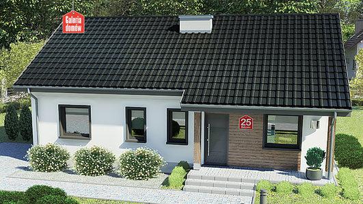 Projekt domu - Dom przy Bukowej 25