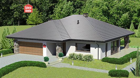 Projekt domu - Dom przy Kwiatowej 5