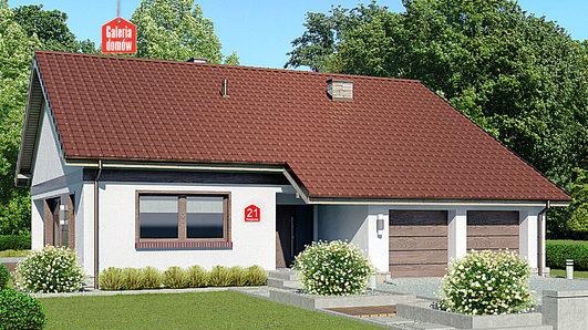 Projekt domu - Dom przy Przyjemnej 21 bis