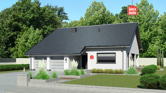 Projekt domu - Dom przy Przyjemnej 22 bis