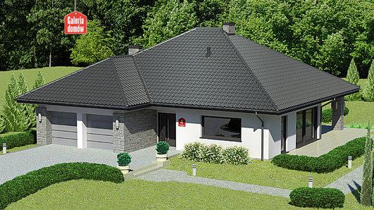 Projekt domu - Dom przy Kwiatowej 4 bis