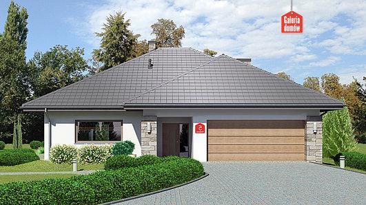 Projekt domu - Dom przy Kwiatowej 5 bis