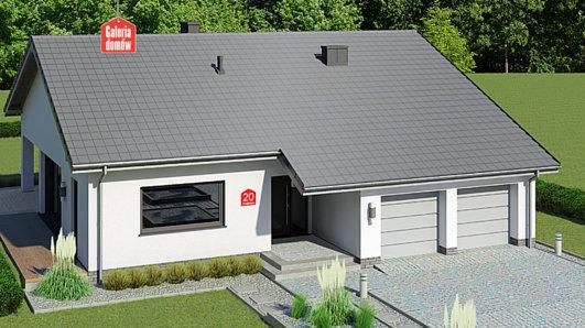 Projekt domu - Dom przy Przyjemnej 20