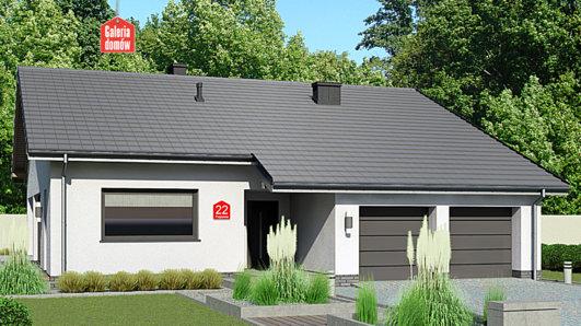 Projekt domu - Dom przy Przyjemnej 22