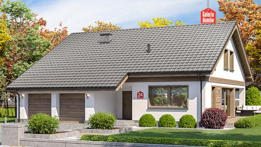 Projekt domu - Dom przy Przyjemnej 24 bis
