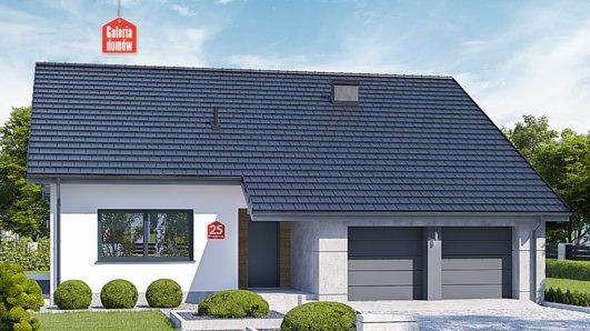 Projekt domu - Dom przy Przyjemnej 25 bis