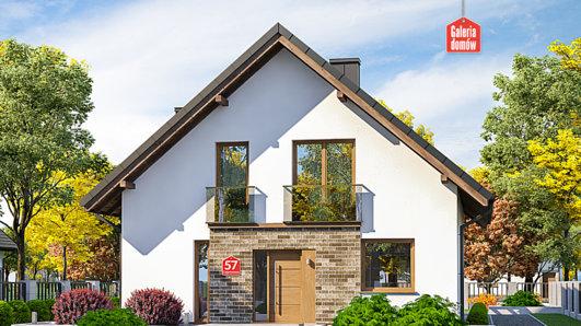 Projekt domu - Dom przy Cyprysowej 57