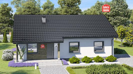 Projekt domu - Dom przy Bukowej 26