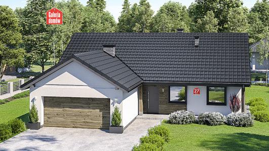 Projekt domu - Dom przy Bukowej 27