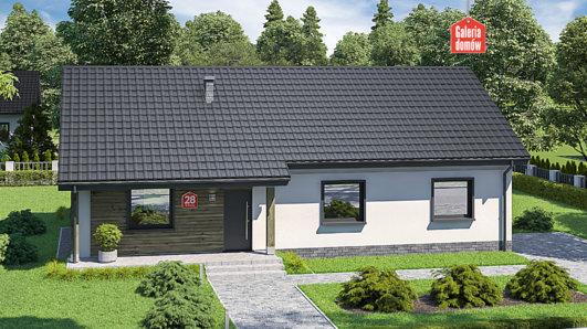 Projekt domu - Dom przy Bukowej 28
