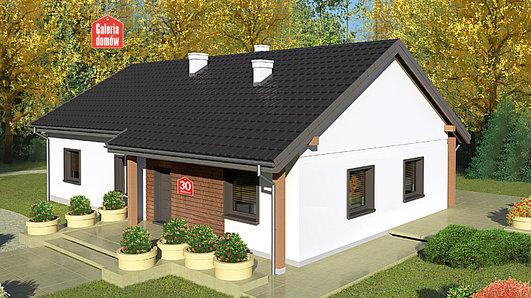 Projekt domu - Dom przy Bukowej 30