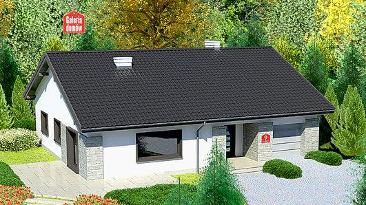 Projekt domu - Dom przy Słonecznej 9