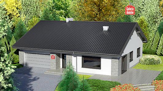 Projekt domu - Dom przy Słonecznej 10