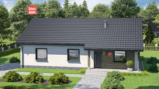Projekt domu - Dom przy Bukowej 29