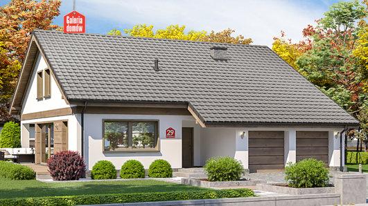 Projekt domu - Dom przy Przyjemnej 29 bis
