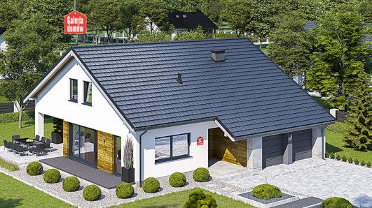 Projekt domu - Dom przy Przyjemnej 30 bis