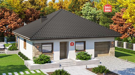 Projekt domu - Dom przy Niezapominajek 4
