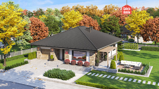Projekt domu - Dom przy Słonecznej 11