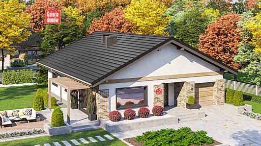 Projekt domu - Dom przy Słonecznej 12