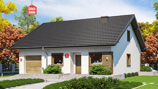 Projekt domu - Dom przy Niezapominajek 5