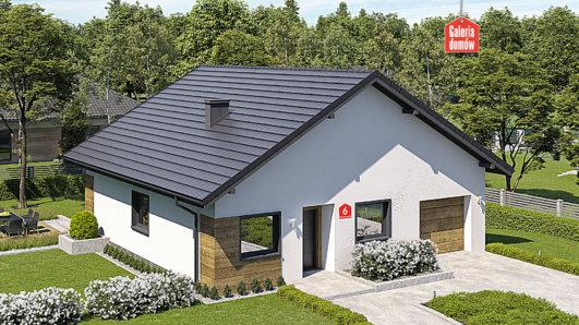 Projekt domu - Dom przy Niezapominajek 6