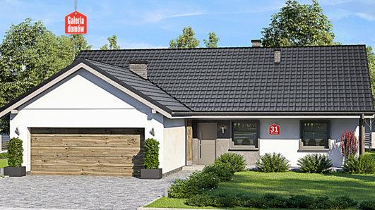 Projekt domu - Dom przy Bukowej 31