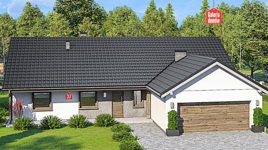 Projekt domu - Dom przy Bukowej 32