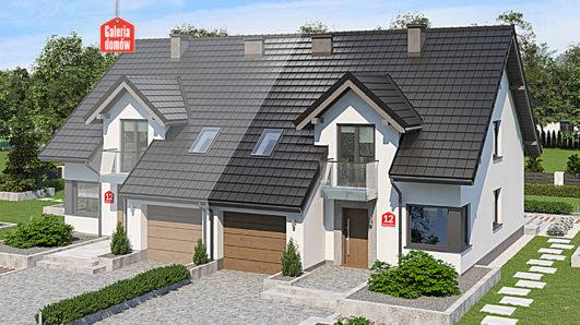 Projekt domu - Dom przy Amarantowej 12