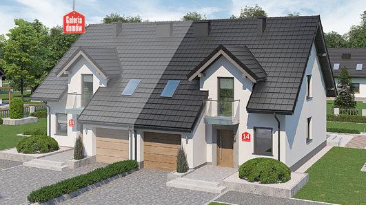 Projekt domu - Dom przy Amarantowej 14