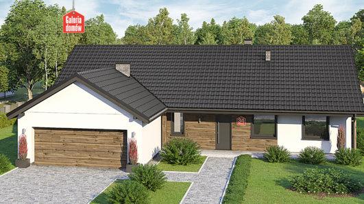 Projekt domu - Dom przy Bukowej 34