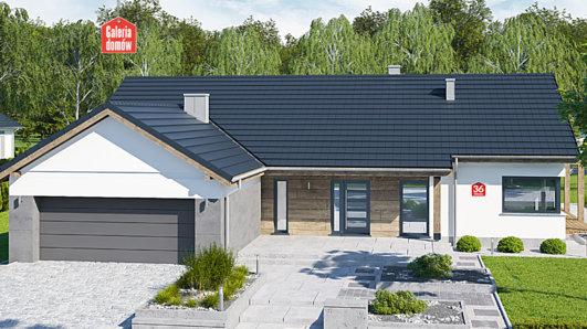 Projekt domu - Dom przy Bukowej 36