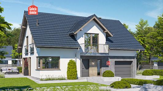 Projekt domu - Dom przy Cyprysowej 100