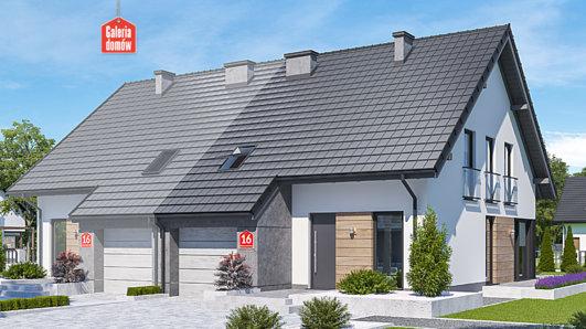 Projekt domu - Dom przy Amarantowej 16
