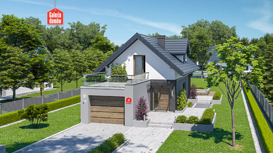 Projekt domu - Dom przy Migdałowej 4